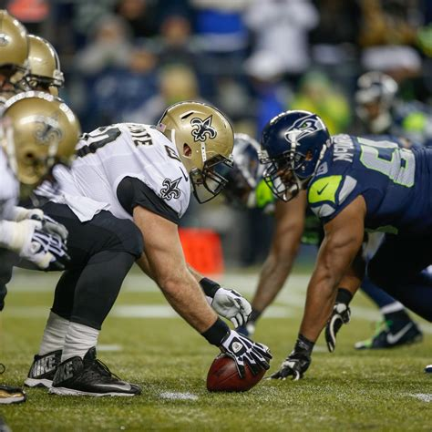 saints  seahawks tv info spread injury updates game