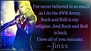 Jinxx Bvb Quotes. QuotesGram