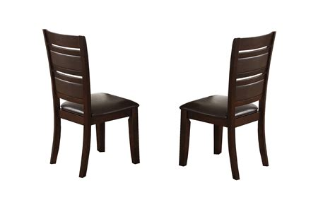 elegant dining cherry finish pc set chair hot sectionals