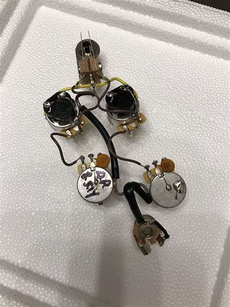 Best Gibson Sg Wiring Harnes by Gibson Sg Wiring Harness Cts Push Pull Reverb