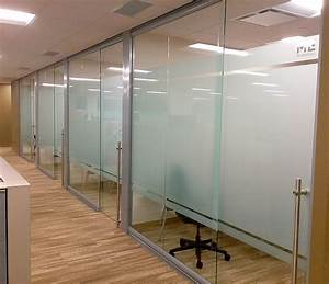 View, Glass, Office, Wall, System