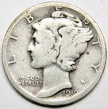 Mercury Dimes Price Charts Coin Values