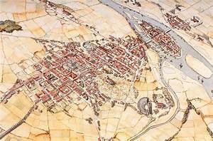 Merovingian Paris by Jean-Claude Golvin   maps   Pinterest ...