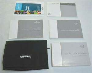 2017 Nissan Altima Sedan Owners Manual Guide Book Set With