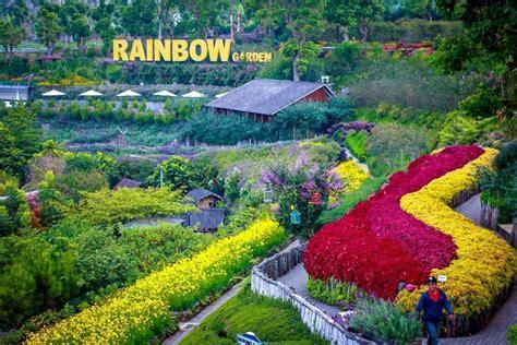 lokasi tiket rainbow garden lembang wisata  bandung
