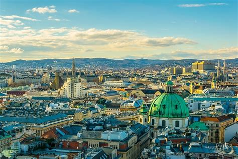capital  austria worldatlascom