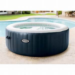 Spa Gonflable Intex Gifi : spa gonflable intex purespa bulles blue navy rond 6 ~ Dailycaller-alerts.com Idées de Décoration