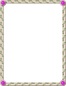 Page Borders and Frames