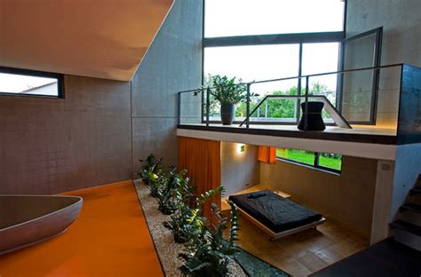 modern german architecture unusual concrete house plan