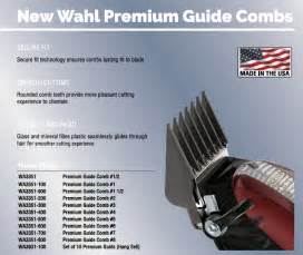 Wahl Premium Clipper Guides Sizes #1/2 to #8   eBay