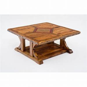 mustang canyon 48 x 48 coffee table green gables With 48x48 coffee table