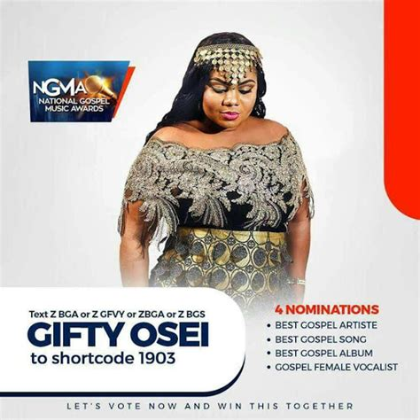 It's been an absolutely beautiful journey. Empress Gifty Osei Bags Avalanche of Nominations - Kingdom ...