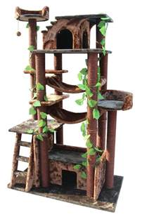 cat towers on cat furniture cat enclosure and cat scratching post