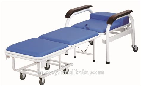 convertible hospital chair bed hospital recliner chair bed