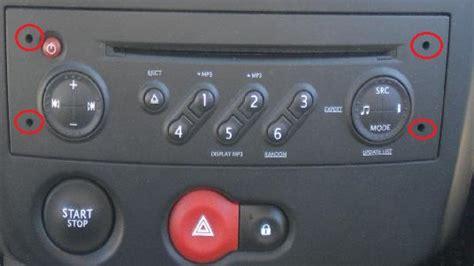 autoradio renault clio 3 changer autoradio renault clio 3