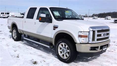 ford  diesel wd king ranch  trucks  sale