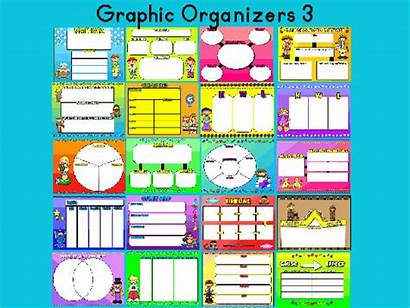 Organizer Graphic Organizers Clipart Resource Pack Library