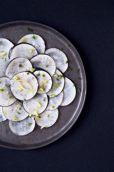 radis noir cuisine les 25 meilleures idées concernant salade de radis sur