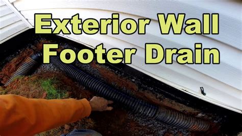foundation waterproofing exterior wall