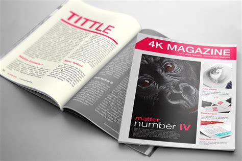 Magazine mockup with photos free psd can help in showcasing your magazine spreads in a photorealistic manner. Magazine Mockup Free | Mockup World HQ
