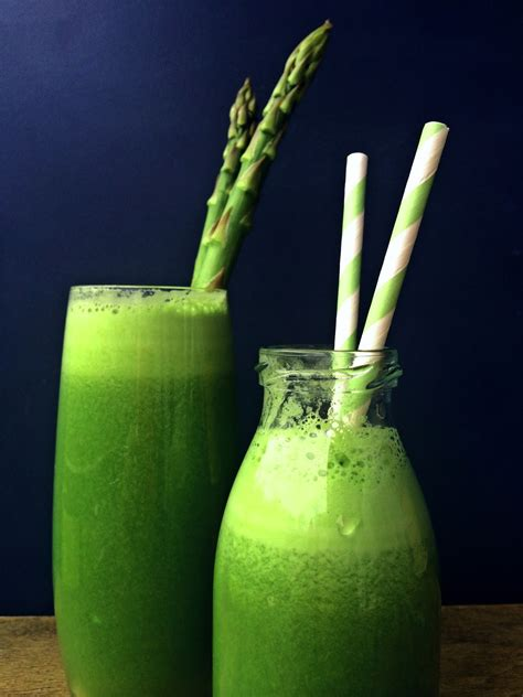 asparagus cucumber juice detox passionately raw ingredients cleanse