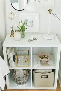 Ikea Regalsystem Kallax : 3 ways to style and use ikea 39 s kallax expedit shelf the everygirl ~ Orissabook.com Haus und Dekorationen