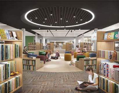 Library Burwood Nsw Council Landing
