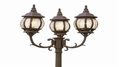 solar powered outdoor lighting fixtures outdoor post