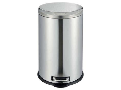 conforama poubelle cuisine poubelle cuisine 20 l dusty 4 coloris argenté vente de