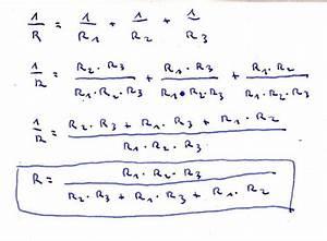 Parallelschaltung Widerstände Berechnen : widerstand widerst nde 1 r 1 r1 1 r2 frage umstellen nach r nanolounge ~ Themetempest.com Abrechnung