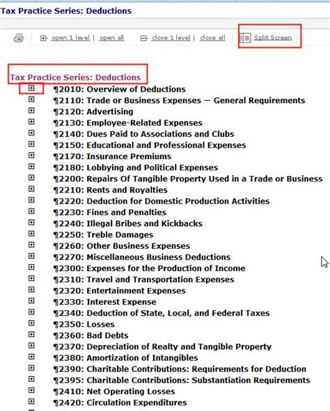 2014 Tax Deductions List