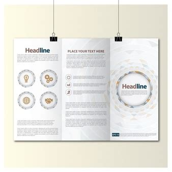 trifold template file trifold brochure vectors photos and psd files free download