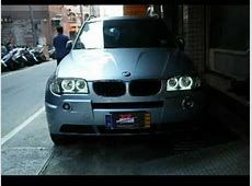 Rdash BMW X3 e83 ccfl angel eyes white YouTube