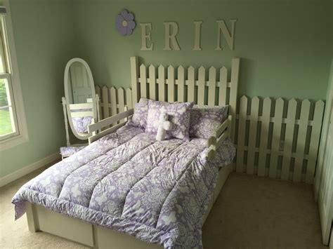 ana white picket fence bed  storage diy projects
