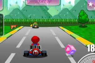Super Mario Kart Online Game