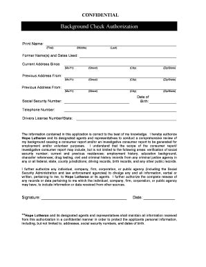 printable background check forms fill