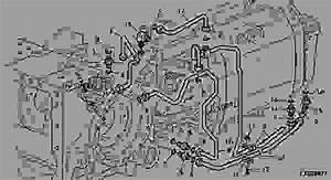 System Pressure Oil Lines   Jd Ivt