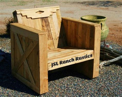outdoor diy pallet chair wooden pallet furniture