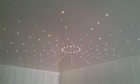 plafond étoilé chambre eclairage