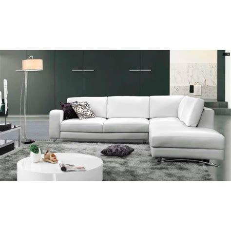 canapé d angle avec méridienne canapé d 39 angle cuir blanc avec méridienne achat