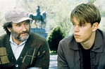 Robin Williams and Matt Damon in Good Will Hunting (1997 ...