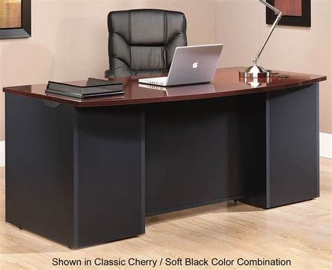 Office Desk by Via Modular Office Desk Collection 72 Quot Bow Front Desk Shell
