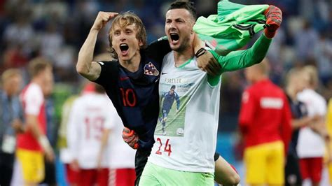 Fifa World Cup Croatia Advance Quarter Finals