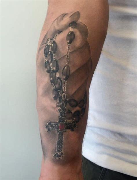 kreuz arm 3d kreuz gebetskette tatoos tatto