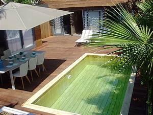 installateur mini piscine en bois var toulon nice marseille With petite piscine pour terrasse