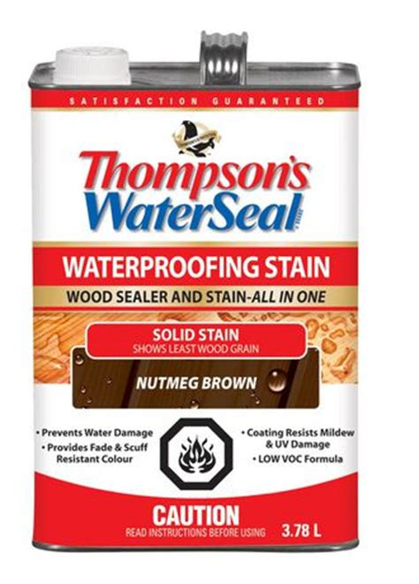 thompsons waterseal    waterproofing stain