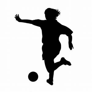 FEMALE SOCCER PLAYERS (Wall Decals) Female Soccer Player ...