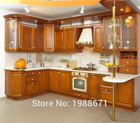 cheap solid wood kitchen cabinets quality american solid wooden kitchen 8178