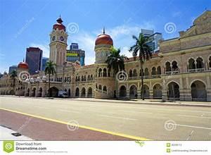 Sultan Abdul Samad Building Stock Photo