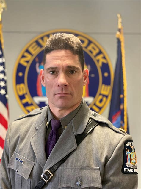 james  hall appointed nys police troop  commander